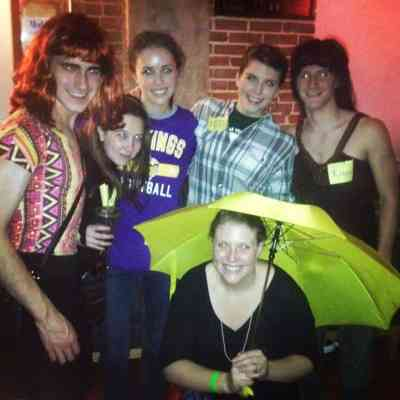 If you can believe that someone who did a gender-bending How I Met Your Mother group costume in college would think such a thing
