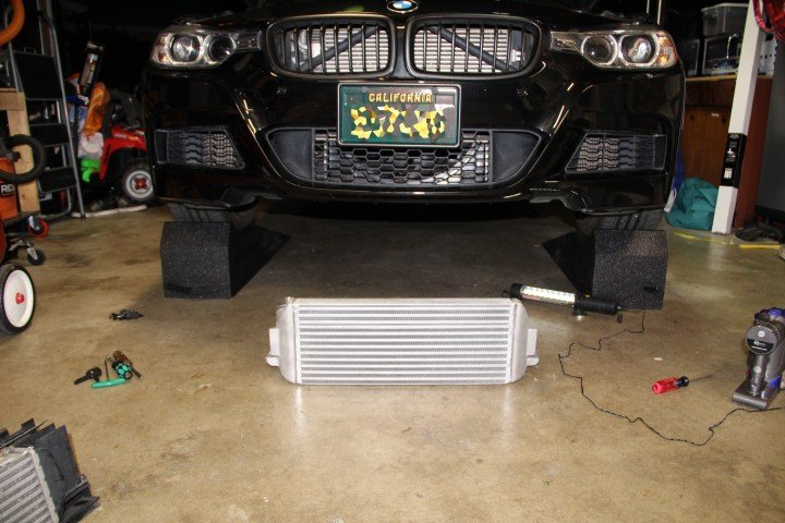 New intercooler ready to go in