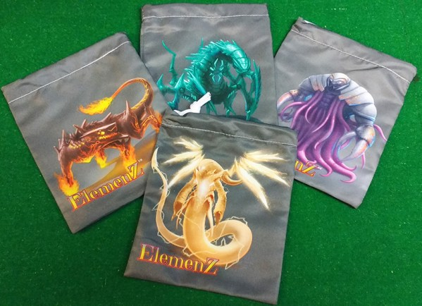 Elemenz dice bag promos