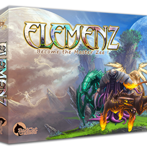 Elemenz boardgame KS edition box