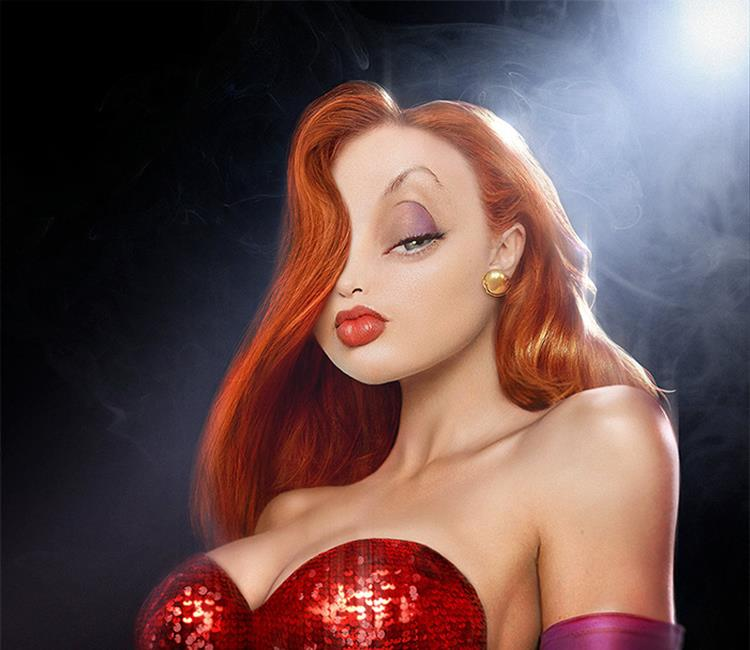 Ultra Realistic Characters we All Know seen on Badchix