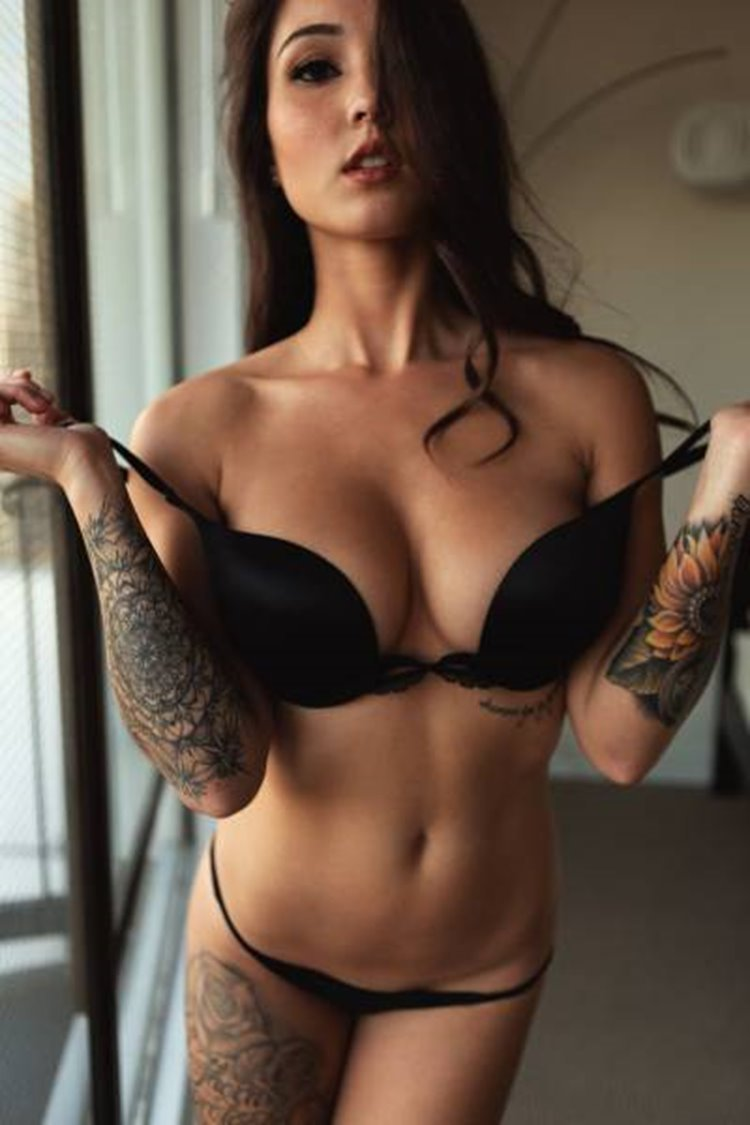 If You Like Girls With Tattoos Get In Here seen on badchix