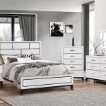 Buy Alexis White 5 Pc Queen Bedroom Part Badcock More