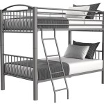 Buy Avery Pewter Twin Twin Metal Bunkbed Part 1080 Pewter T T Bb Badcock More