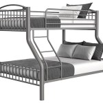 Buy Avery Pewter Twin Full Metal Bunkbed Part 1080 Pewter T F Bb Badcock More