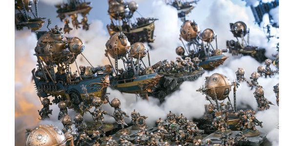 Kharadron Overlords are the custom kings