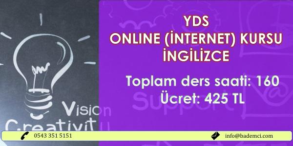 2017 Online YDS kursu