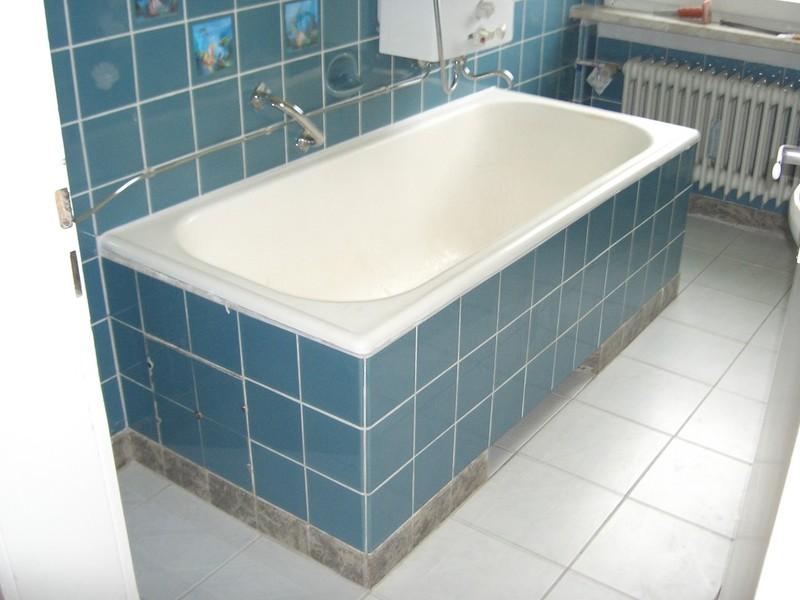 Badewannenaustausch ohne Fliesenschaden, Badewannenreparatur
