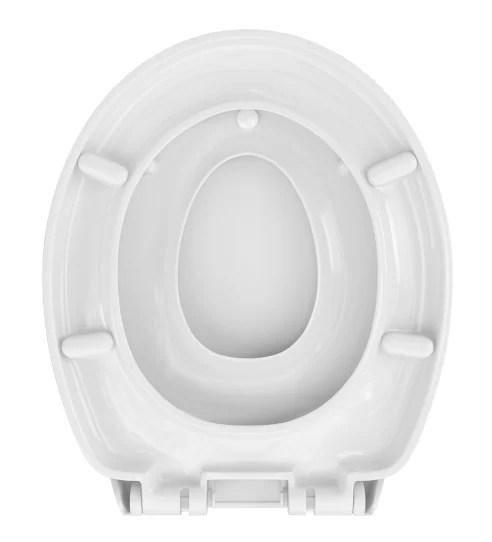 WC Sitz mit Kindersitz Absenkautomatik Oval / Soft-Close, Family II - WC Sitz Shop