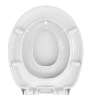 WC Sitz mit Kindersitz Absenkautomatik und Oval-Form / Soft-Close, Family II - WC Sitz Shop
