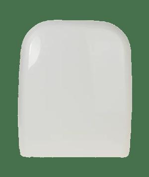 WC Sitz mit Absenkautomatik und Eckig Form / Soft-Close für CONCA Ideal Standard