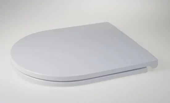 WC Sitz mit Absenkautomatik und D-Form / Soft-Close für Nexo ROCA - WC Sitz Shop