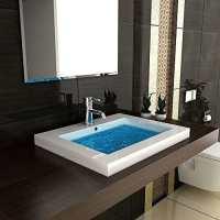 Modern Badezimmer Hochglanz Waschbecken Handwaschbecken ...