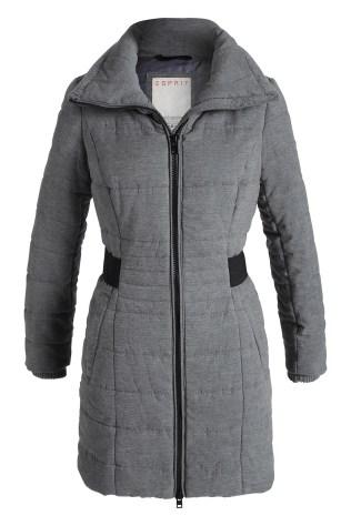 Manteau garni de duvet/plumes