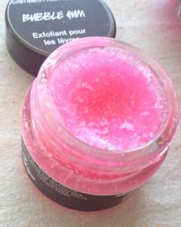 gommage lèvres Lush Bubble Gum