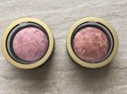 A gauche : Seductive Pink - à droite : Alluring Rose