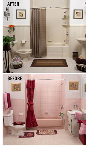 Bathtub Liners Amp Shower SurroundsWall System Installation