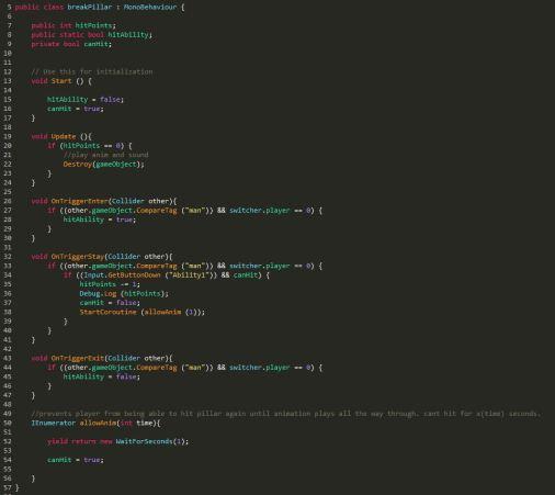 Pick Axe Ability Script