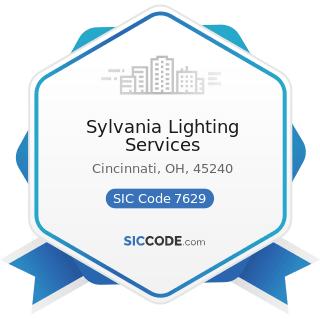 sylvania lighting services zip 45240