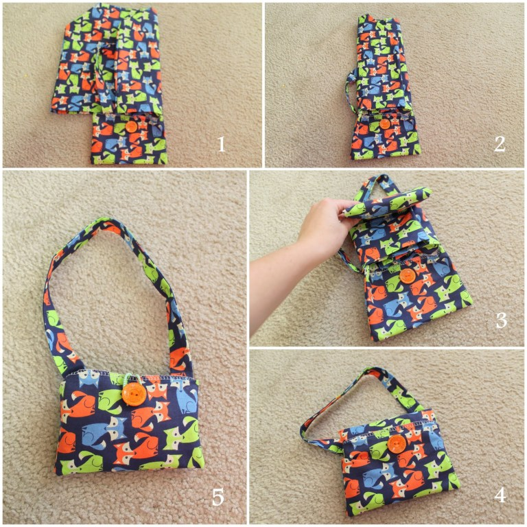 reusable shopping bag tutorial