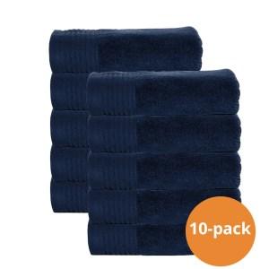 The One handdoek 50x100 Navy 10 stuks