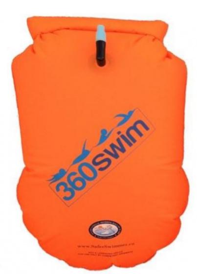 SaferSwimmer™ zwemboei Heavy Duty 18 L 72 x 40 cm oranje XL