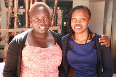 Linda's Handcrafted Nutbutters Linda Munyendo and JK Skincare Shea Butter Josphine Wanza