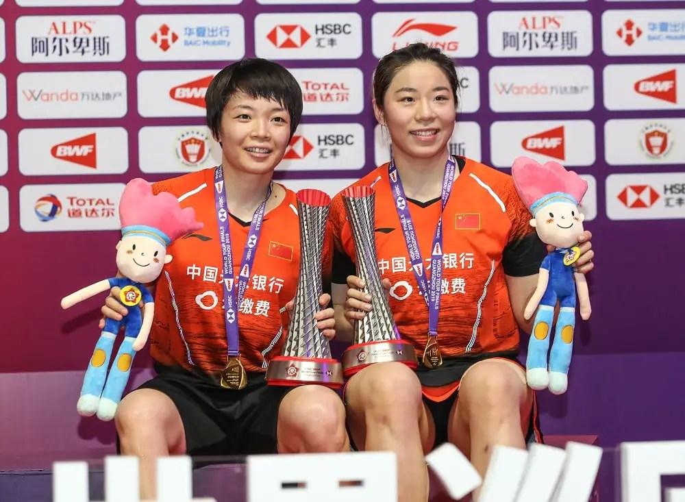 Chen Qingchen and Jia Yifan, China