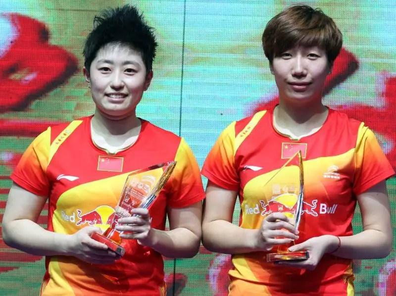 Yu Yang and Wang Xiaoli, China