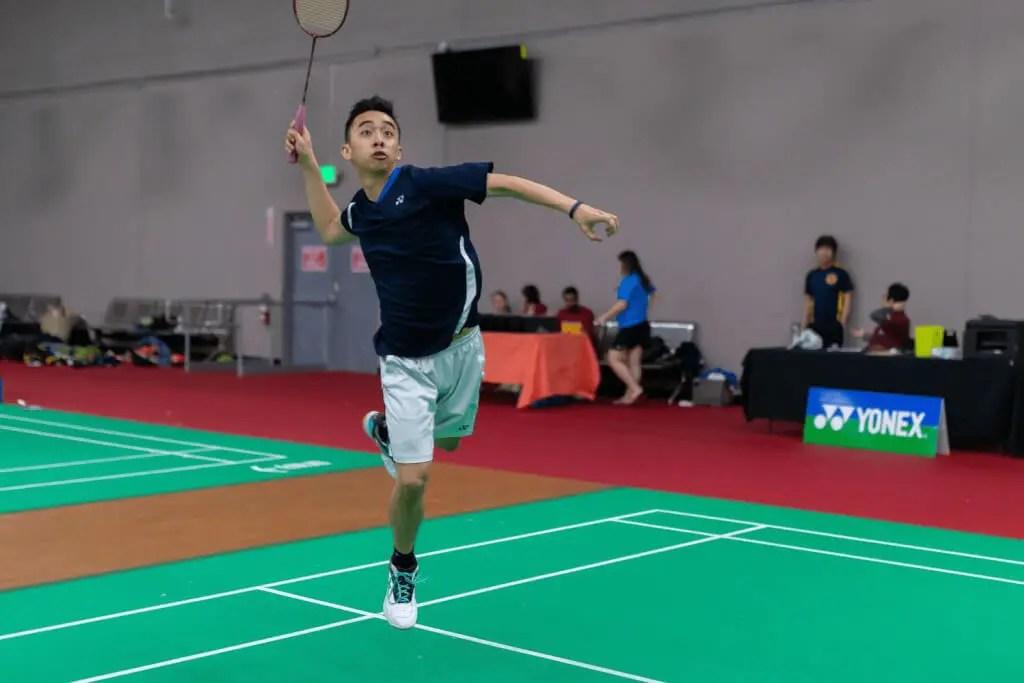 Justin Ma Badminton Player