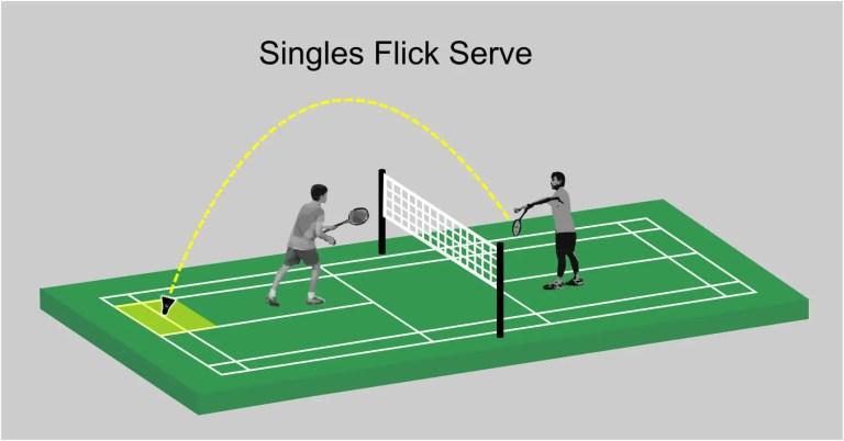 Flick Serve - Singles