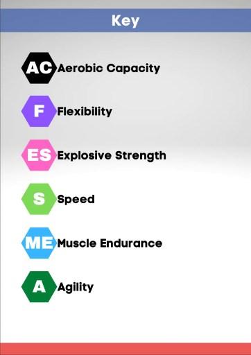 Everything Badminton's Performance Keys