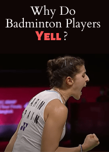 Read more about the article Why Do Badminton Players Yell?