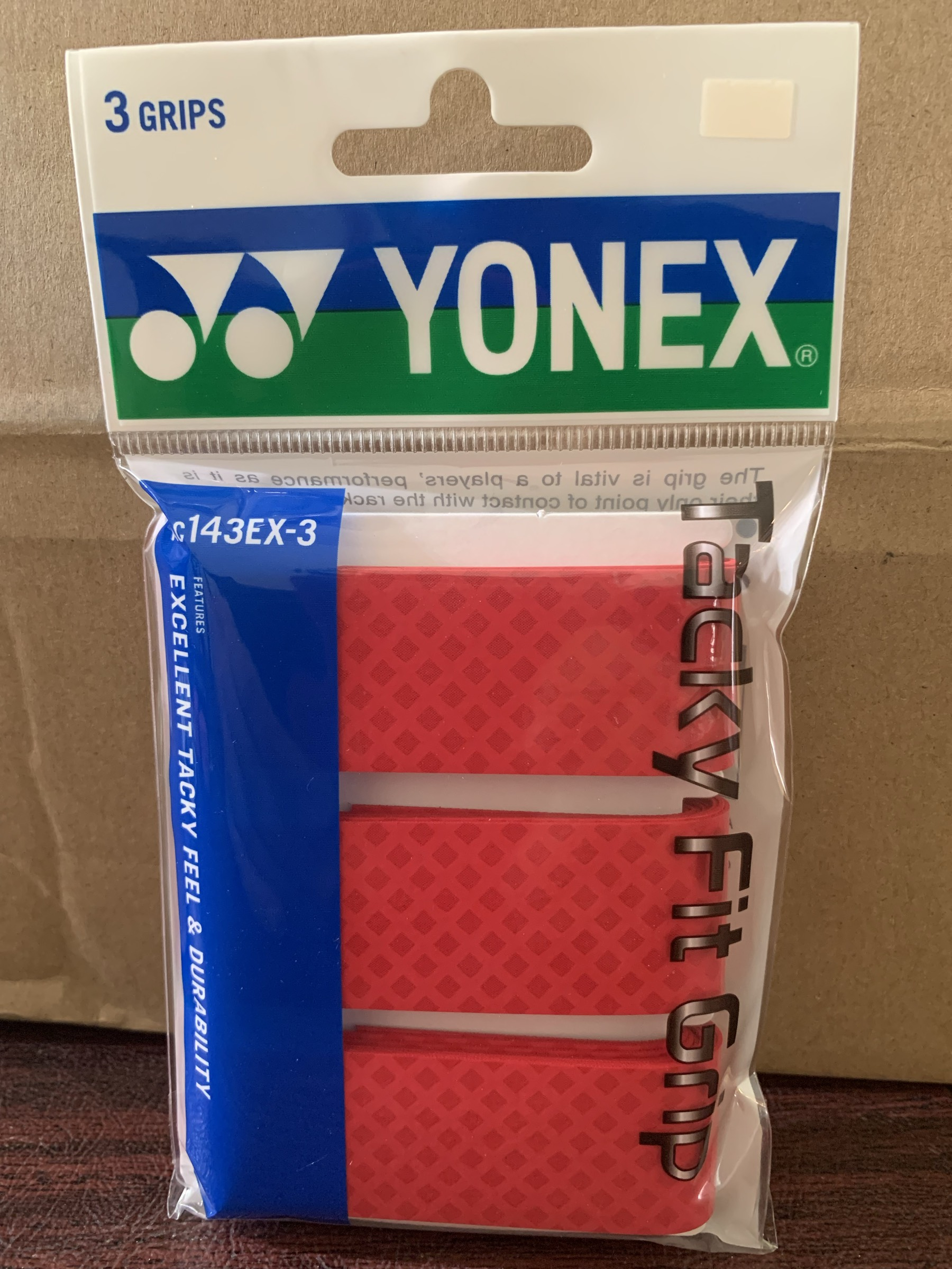 Read more about the article An Honest Review of the Yonex Tacky Fit Grip