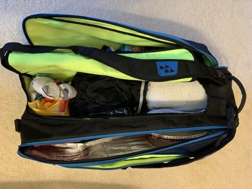 Yonex Pro Racquet Bag (9PCS). Full of Equipment.
