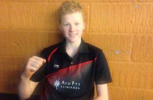 Anders Antonsen sejrede ved Danish Junior Cup U19