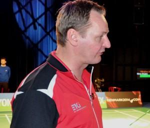 Landstræner Lars Uhre. Foto @ Annette Vollertzen