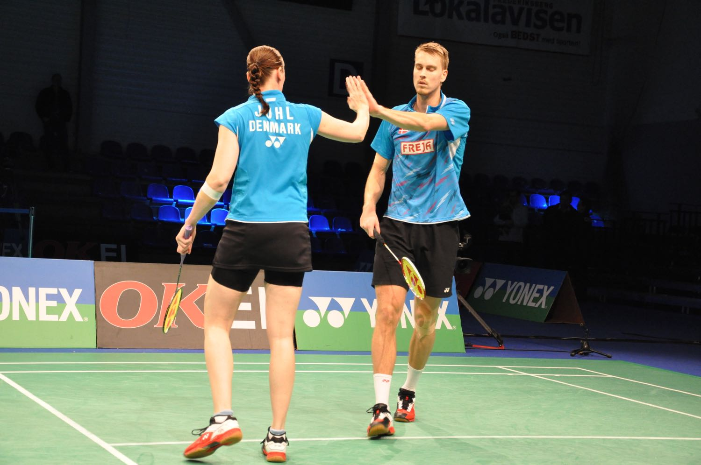 Kamilla Juhl og Mads Kolding har l¸st problemerne – BadmintonBladet