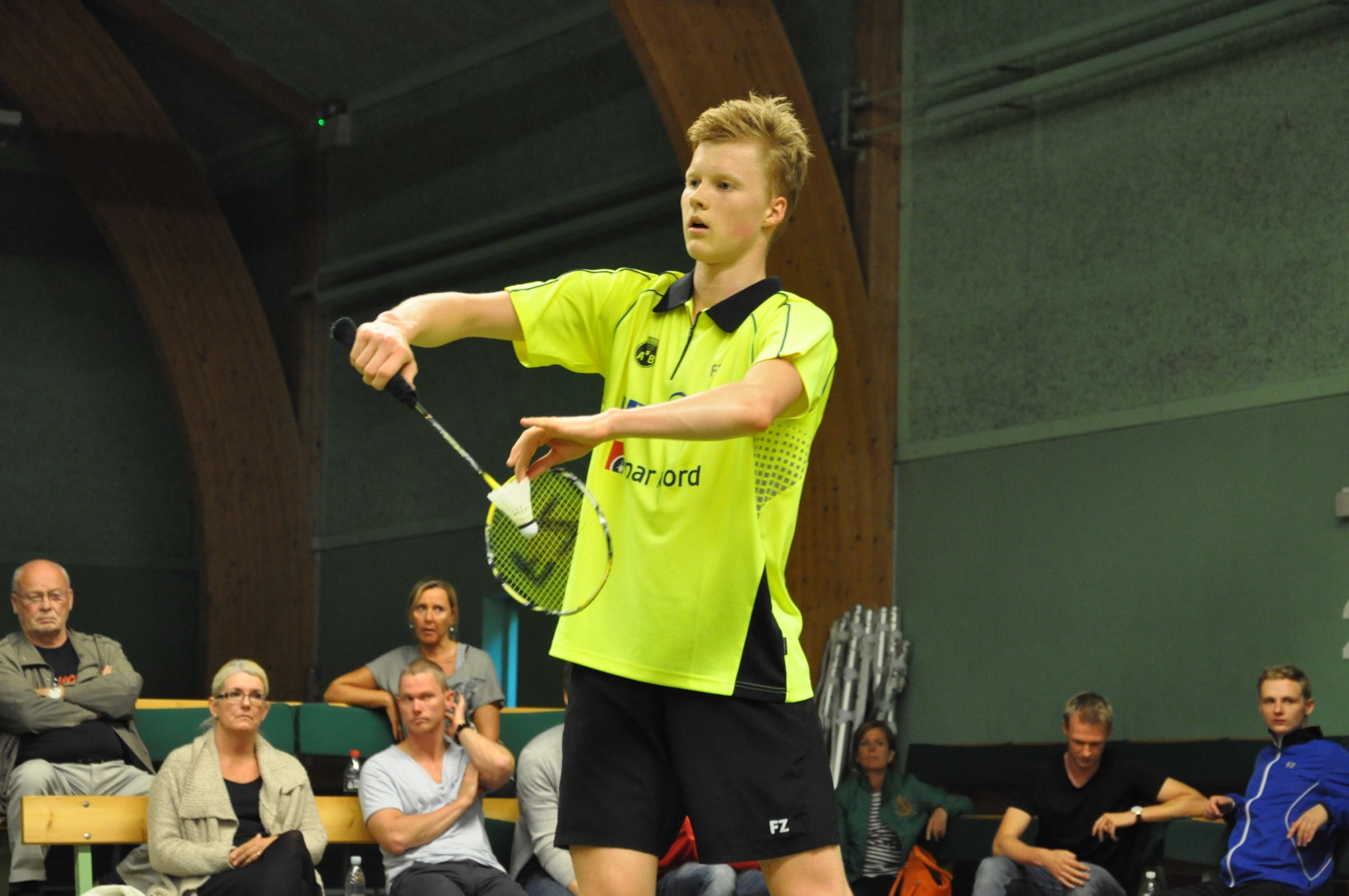 Anders Antonsen forlover sig med…… – BadmintonBladet