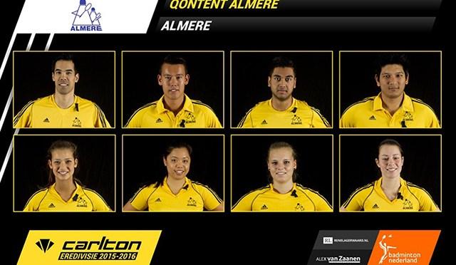Qontent Almere komt tekort in finale