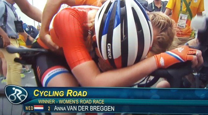 Anna van der Breggen wint Olympisch goud wegwedstrijd
