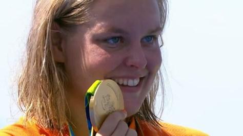 Sharon van Rouwendaal: Goud Zwemmen 10 kilometer