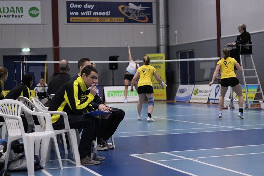 Goede start AviAir Almere tegen Duinwijck in kampioenspoule