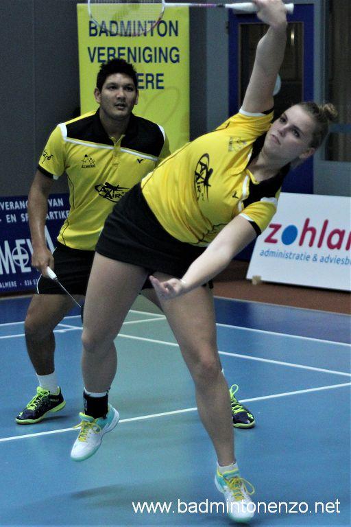 Tamara van der Hoeven en Dave Khodabux