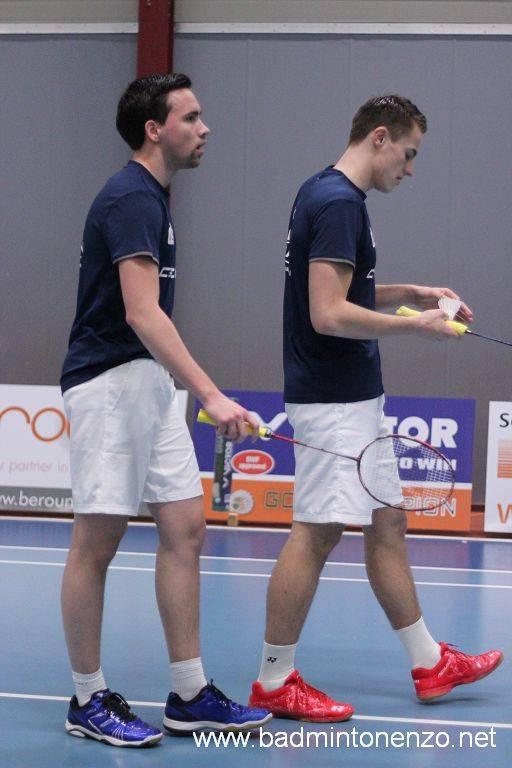 Mark Caljouw en Thomas Wijers