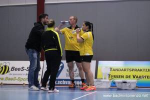 Gita Djajawasita, Léon Nottelman, Ilse Vaessen en Joris van Soerland