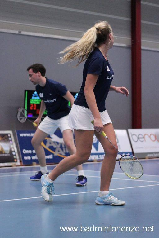 Kyra van der Heij en Thomas Wijers