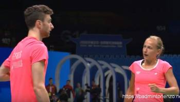 Jacco Arends, Selena Piek op WK Nanjing