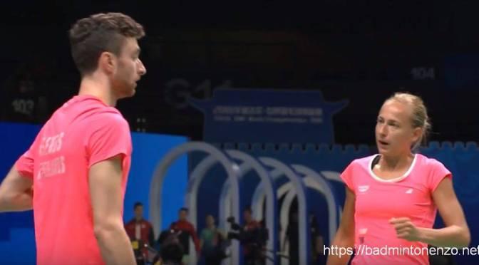 Jacco Arends en Selena Piek uitgeschakeld op WK #BWFWC2018