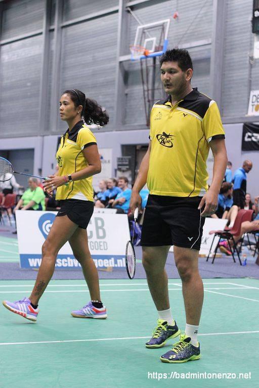 Georgy van Soerland en Dave Khodabux